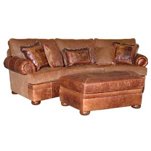 Mayo 755 Traditional Sofa and Ottoman