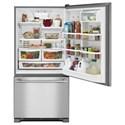 Maytag Bottom Freezer Refrigerators - Maytag 30-Inch Wide Bottom Mount Refrigerator - 19 Cu. Ft.