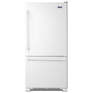 Maytag Bottom Freezer Refrigerators - Maytag 33-Inch 22 Cu. Ft. Bottom Mount Refrigerator