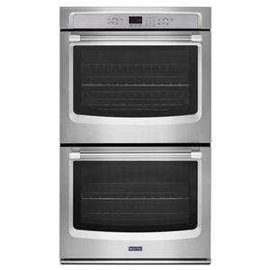 Maytag Built-In Electric Double Oven 27-Inch Double Wall Oven with Precision Cook