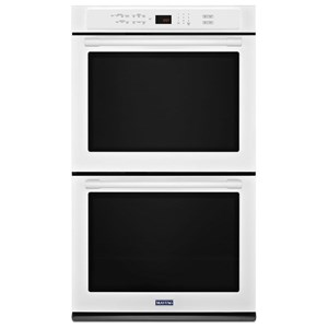 "Maytag Built-In Electric Double Oven 30"" Wide Double Wall Oven - 10 Cu. Ft."