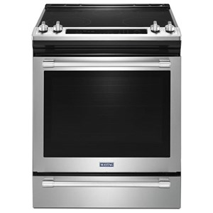 "Maytag Electric Ranges 30"" Slide-in Electric Range"