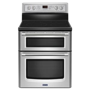 Maytag Electric Ranges Double Oven Electric Stove