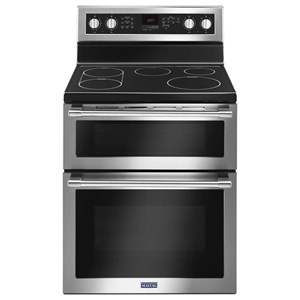 "Maytag Electric Ranges 6.7 Cu. Ft. 30""  Double Oven Electric Range"