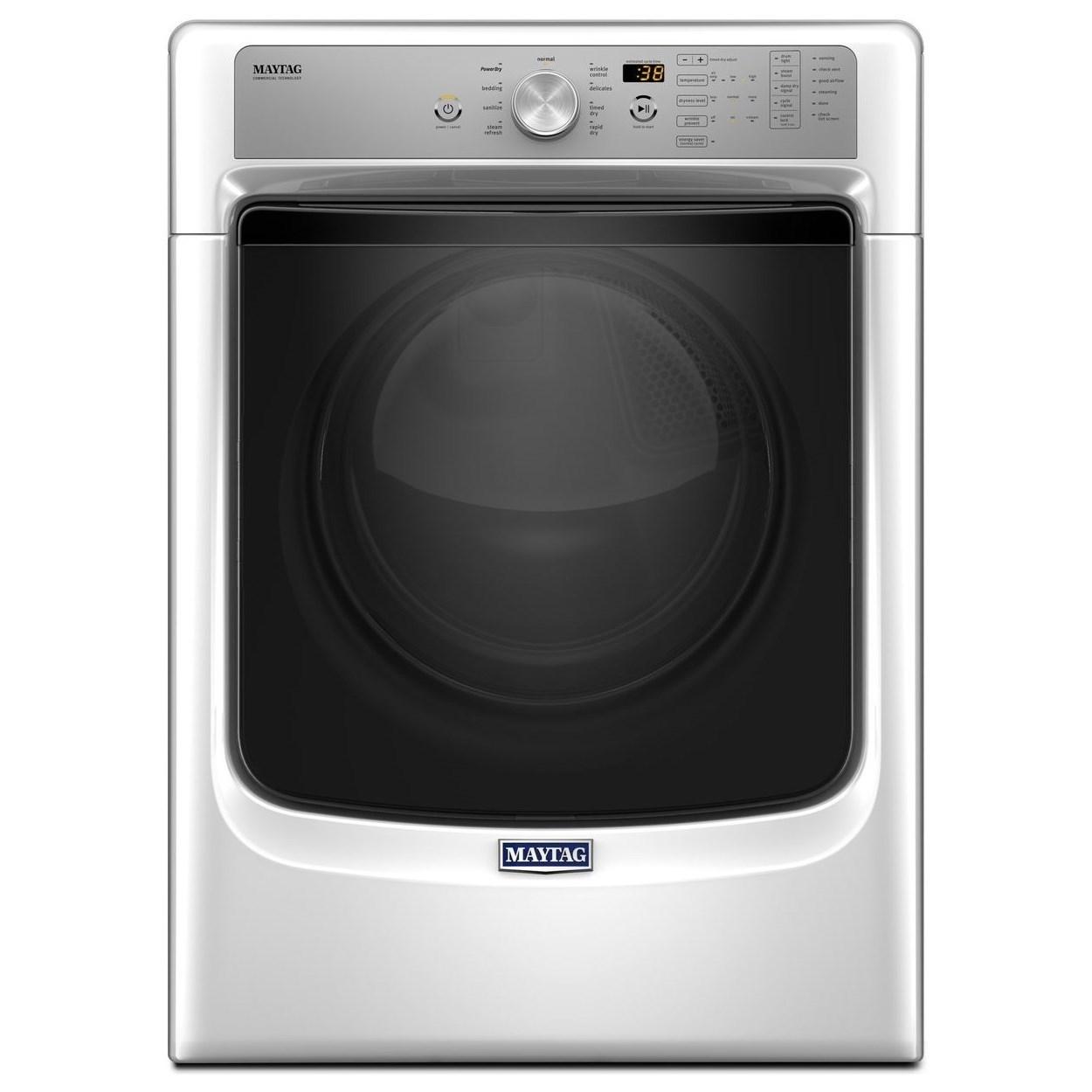 7.4 Cu. Ft. Large Capacity Dryer