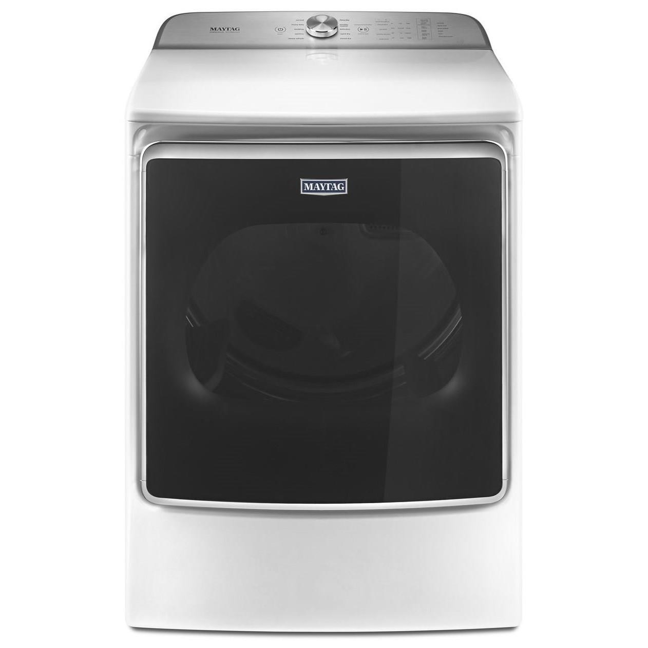Maytag Front Load Electric Dryers 9.2 Cu. Ft. Extra-Large Capacity Dryer - Item Number: MEDB955FW