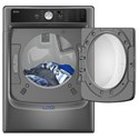 Maytag Front Load Gas Dryer Large Capacity Dryer with Sanitize Cycle and PowerDry System – 7.4 cu. ft.