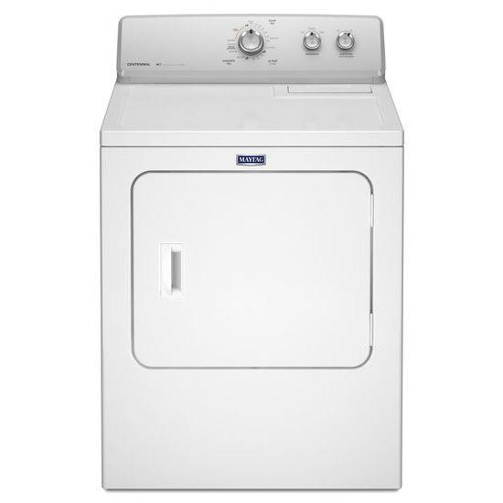 Maytag Front Load Gas Dryer 7.0 cu. ft. Extra-Large Capacity Dryer - Item Number: MGDC215EW