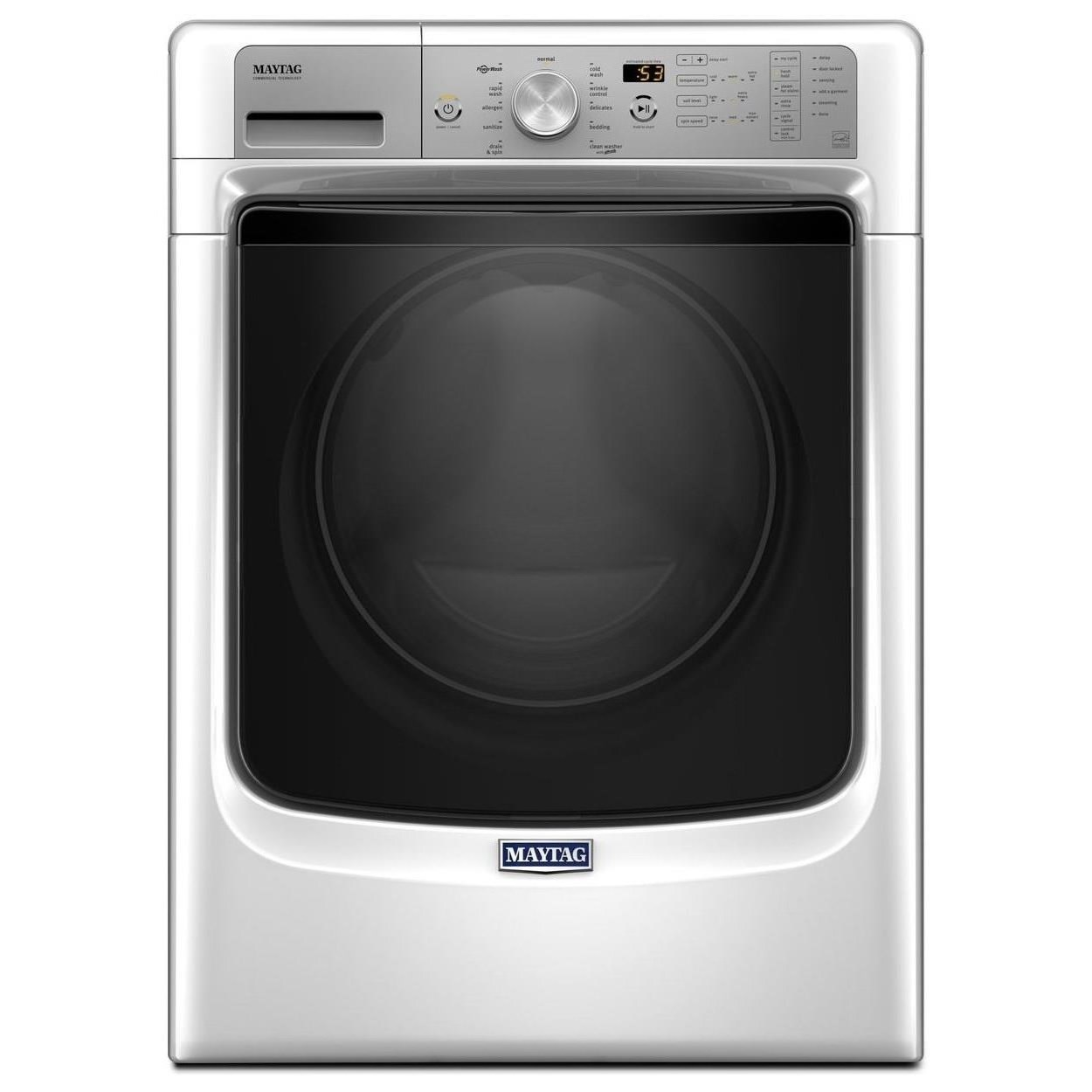 Maytag Front Load Washers 5500 Series 4.5 Cu. Ft. Front Load Washer - Item Number: MHW5500FW