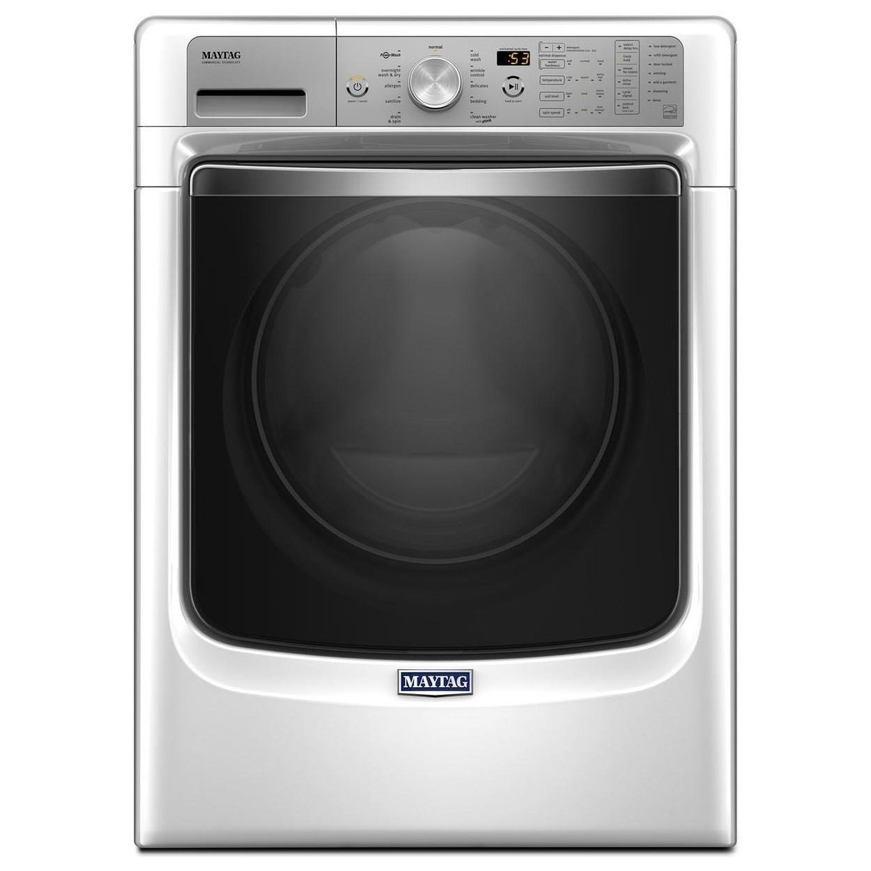Maytag Front Load Washers 8200 Series 4.5 Cu. Ft. Front Load Washer - Item Number: MHW8200FW