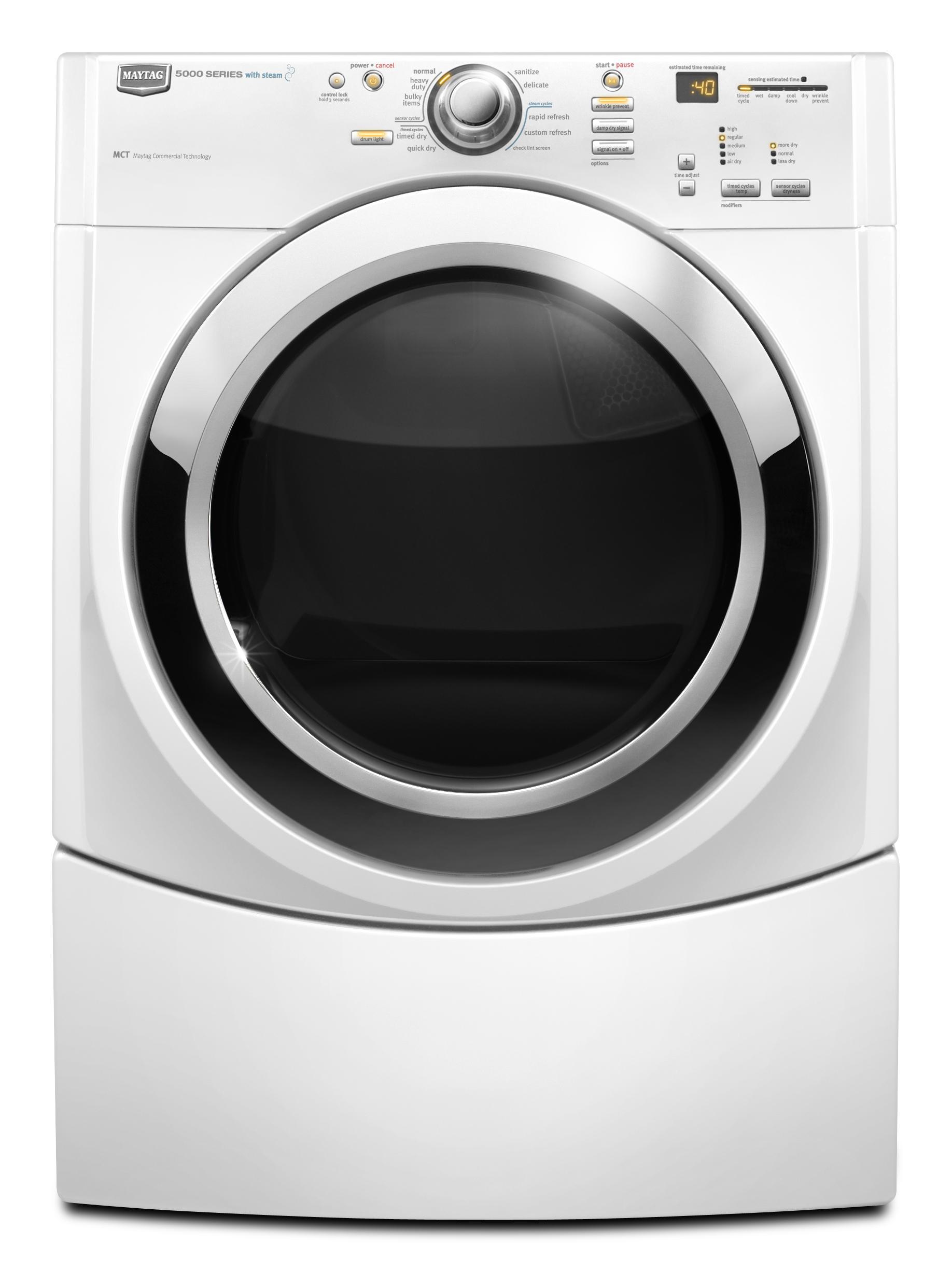 Maytag Mgde500vw7 0 Cu Ft Performance Series Gas Dryer