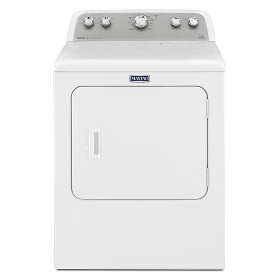 Maytag Gas Dryers 7.0 cu. ft. Bravos® Front Load Gas Dryer - Item Number: MGDX655DW