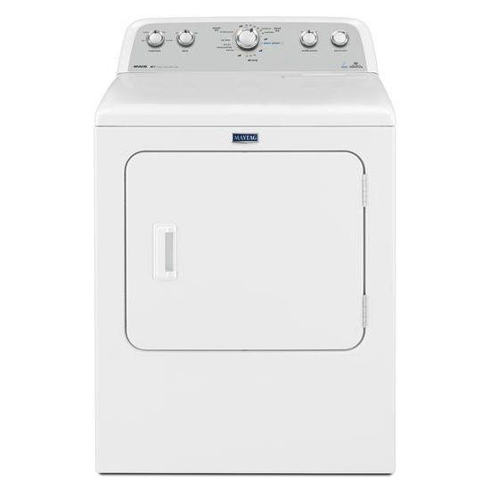 Maytag Gas Dryers 7.0 cu. ft. Front Load Gas Dryer - Item Number: MGDX6STBW