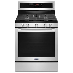 30-Inch Wide Gas Range With True Convection