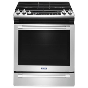 "Maytag Gas Ranges 30"" Slide-In Convection Gas Range"