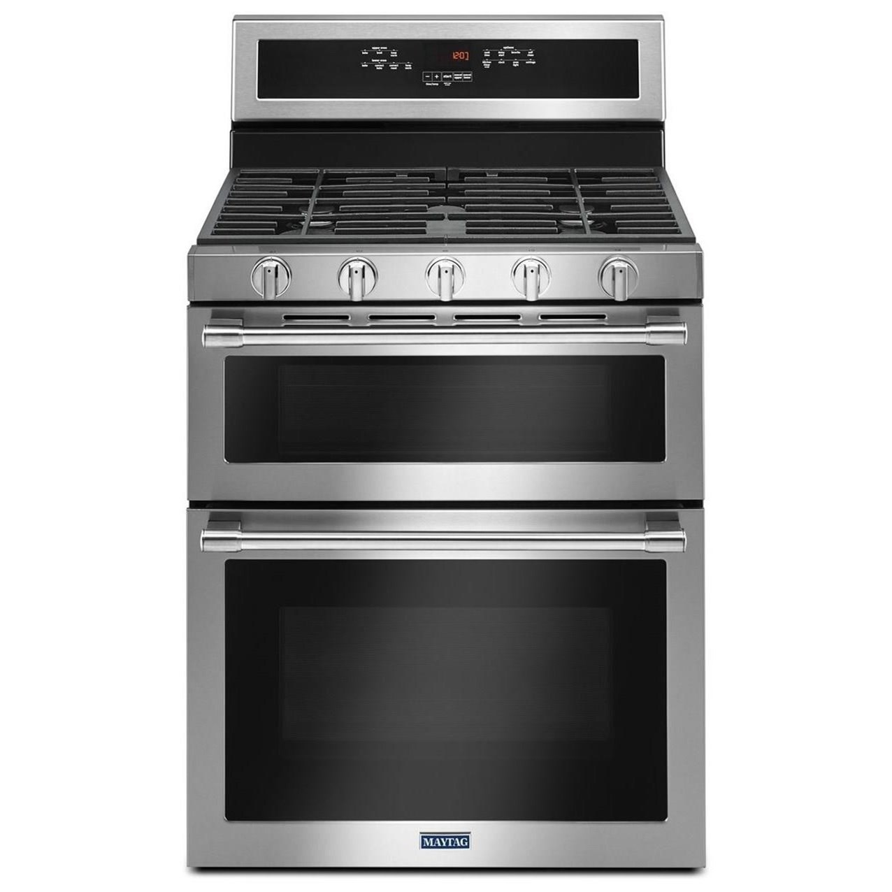 30 Inch Wide Double Oven Gas Range With True Convection 6 0 Cu Ft By Maytag