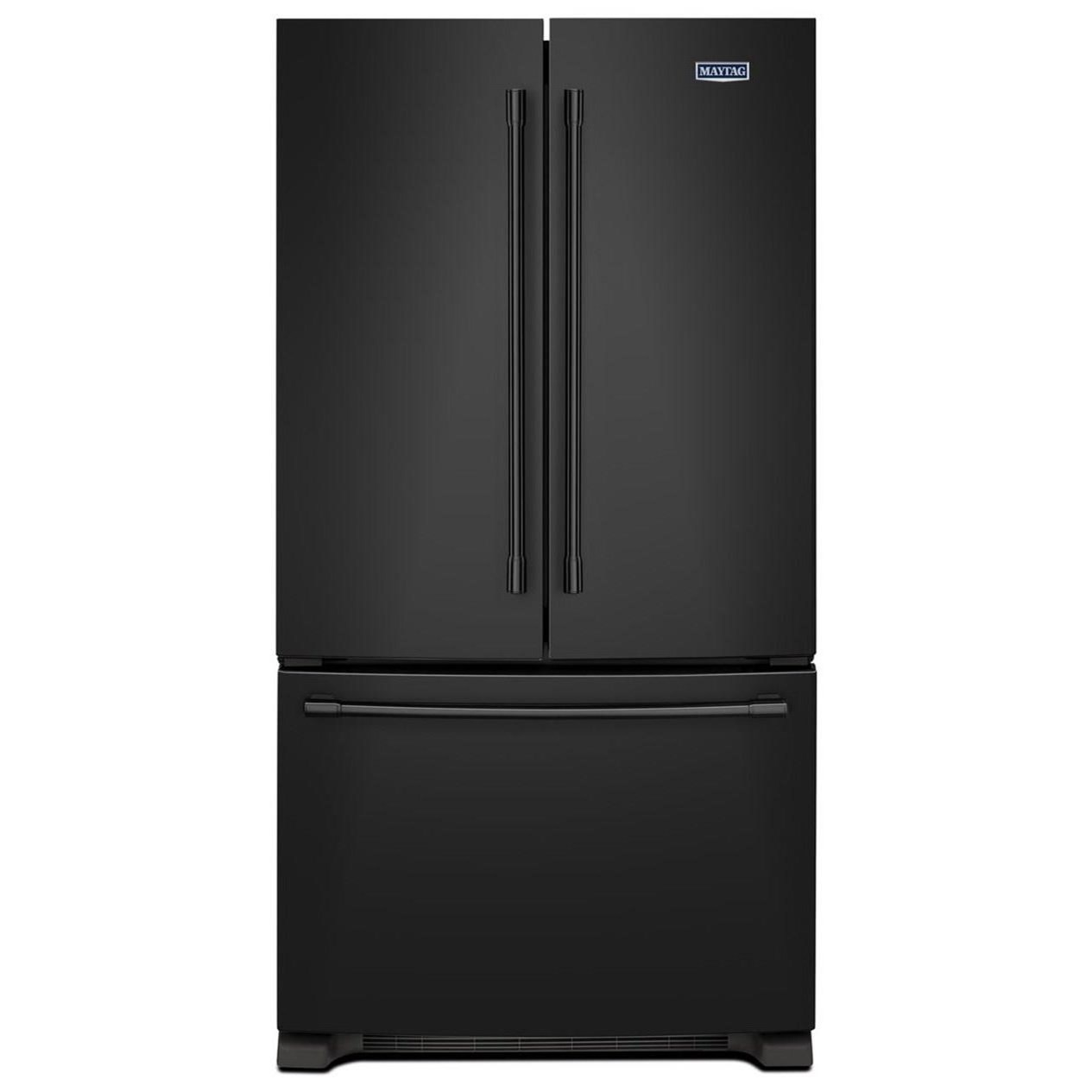 Maytag Mff2558feb33 Inch Wide French Door Refrigerator 22 Cu Ft