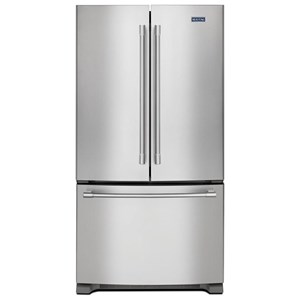 "Maytag Maytag French Door Refrigerators 36"" 25 Cu. Ft. French Door Refrigerator"