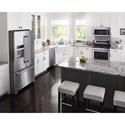 Maytag Maytag French Door Refrigerators 36- Inch Wide French Door Refrigerator with PowerCold® Feature - 25 Cu. Ft.