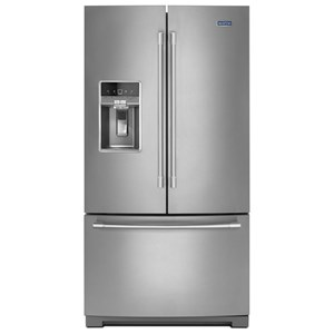 "Maytag Maytag French Door Refrigerators 36"" 27 Cu. Ft. French Door Refrigerator"