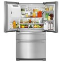 Maytag Maytag French Door Refrigerators 36- Inch Wide 4-Door French Door Refrigerator with Maytag® Steel Shelves - 26 Cu. Ft.