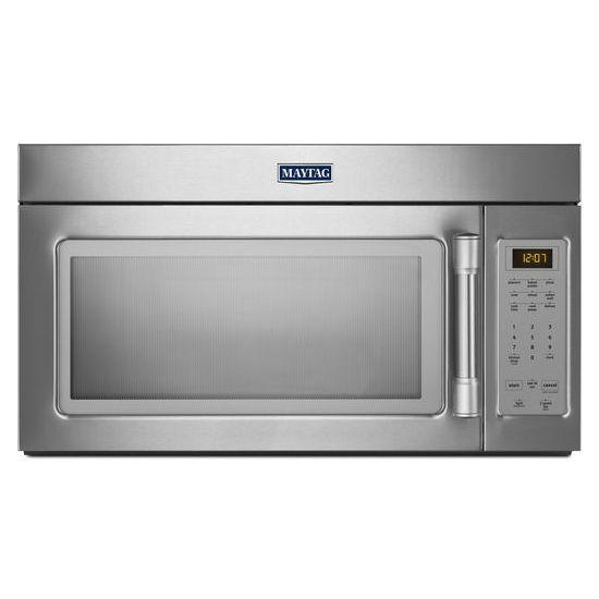 Maytag Microwaves 1.7 cu. ft. Compact Over-the-Range Microwave - Item Number: MMV1174DS