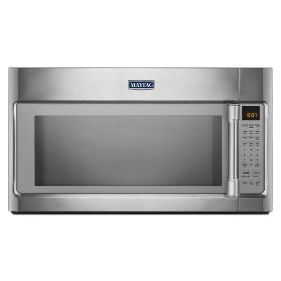 Maytag Microwaves 2.1 cu. ft. Large Over-the-Range Microwave w - Item Number: MMV5219DS