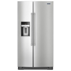 "Maytag Side-By-Side Refrigerators- Maytag 36"" Counter Depth Side-by-Side Refrigerator"
