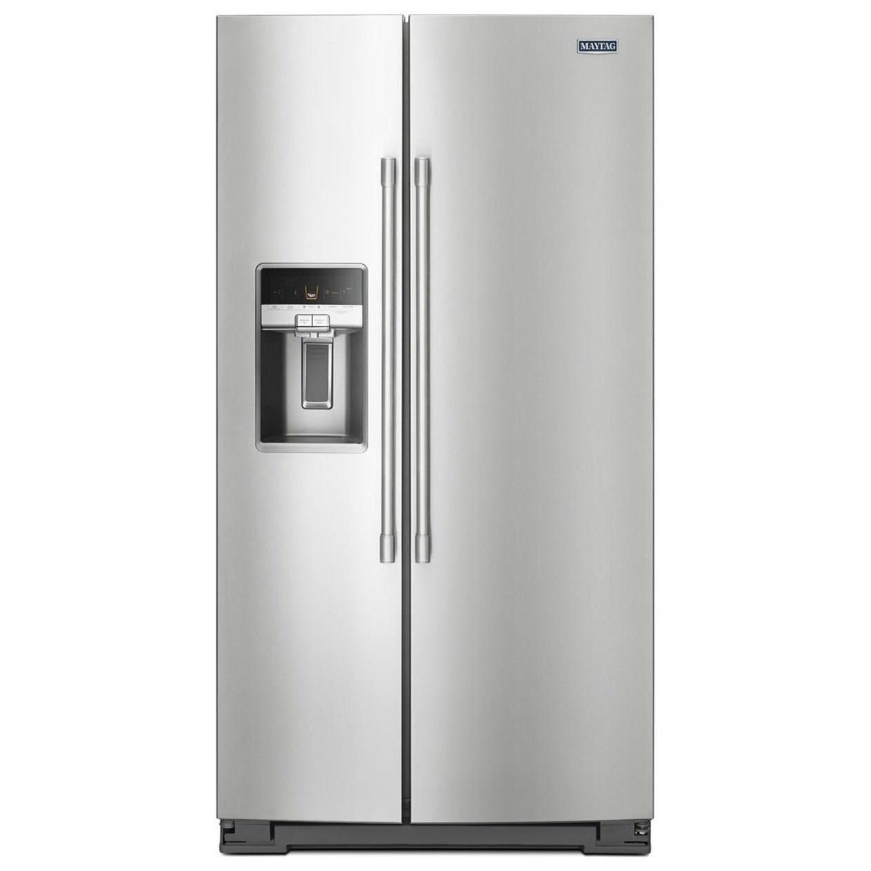 Maytag Side-By-Side Refrigerators- Maytag 36- Inch Wide Side-by-Side Refrigerator with - Item Number: MSS26C6MFZ