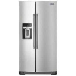 Maytag Side-By-Side Refrigerators- Maytag 36- Inch Wide Side-by-Side Refrigerator with