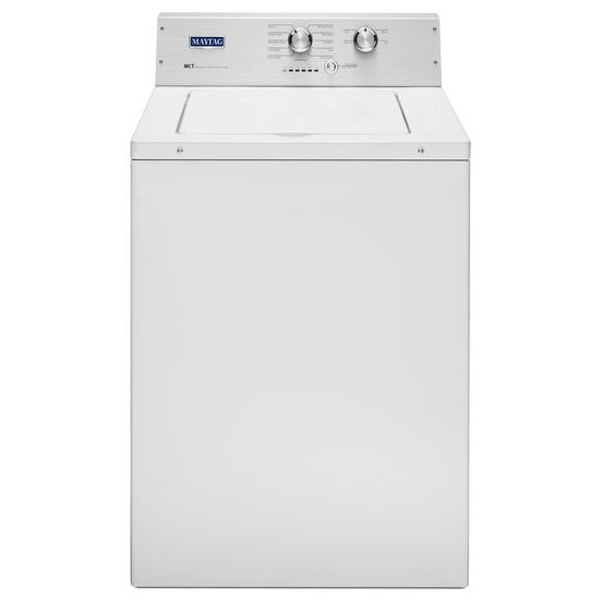 Maytag Top Load Washers 3.6 Cu. Ft. XL Capacity Top Load Washer - Item Number: MVWP475EW