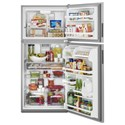 Maytag Top-Freezer Refrigerators 33-Inch Wide Top Freezer Refrigerator with PowerCold® Feature- 21 Cu. Ft.