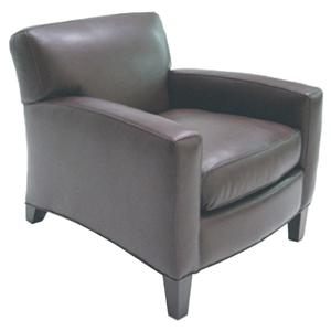 McCreary Modern 0005 Contemporary Chair with Smooth Track Arms