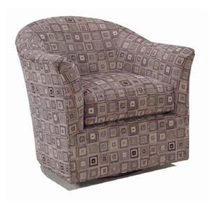 McCreary Modern 0211 Curved Swivel Glider Chair