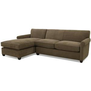 McCreary Modern 0491 Transitional L-Shaped Sectional with Left Chaise