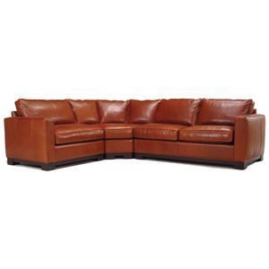 McCreary Modern 0555 Contemporary Sectional Sofa