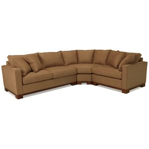 McCreary Modern 0555 Contemporary Sectional Sofa with Sleeper