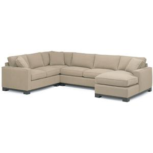 McCreary Modern 0555 Contemporary Sectional Sofa with Chaise