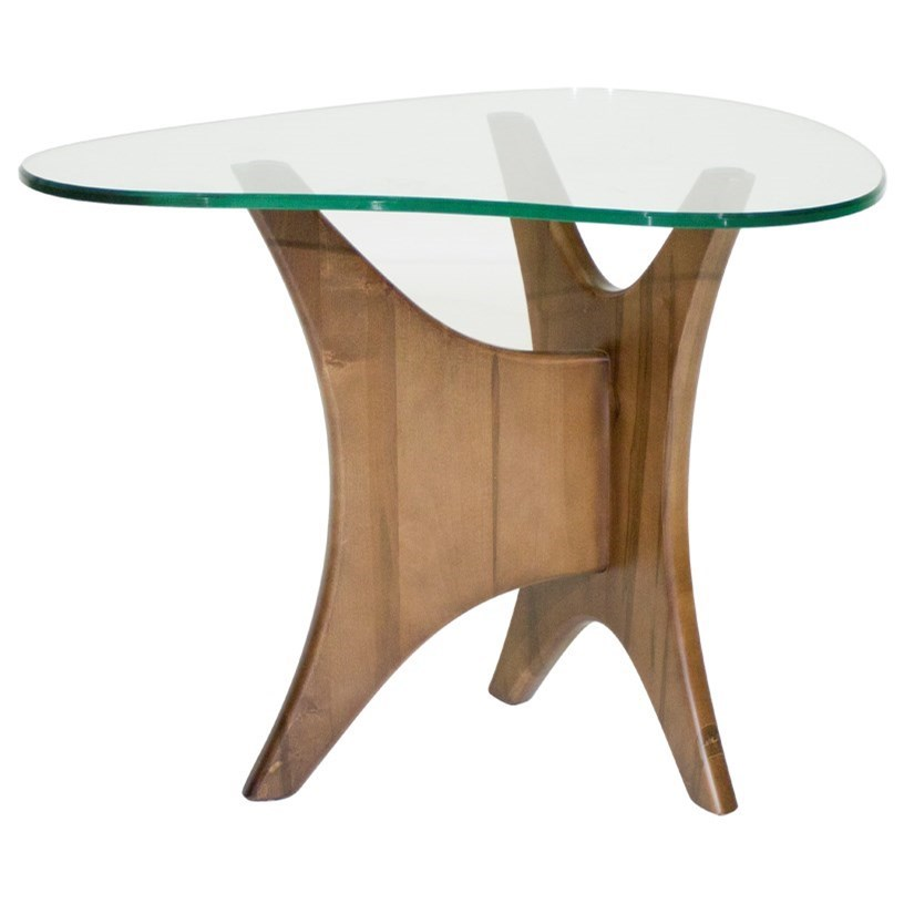 McCreary Modern Occasional Tables Boomerang End Table - Item Number: 06ET-29B-Sierra