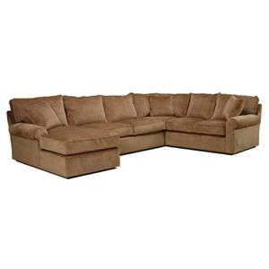 McCreary Modern 0659 Harris Sectional Sofa with Left-Arm-Facing Chaise