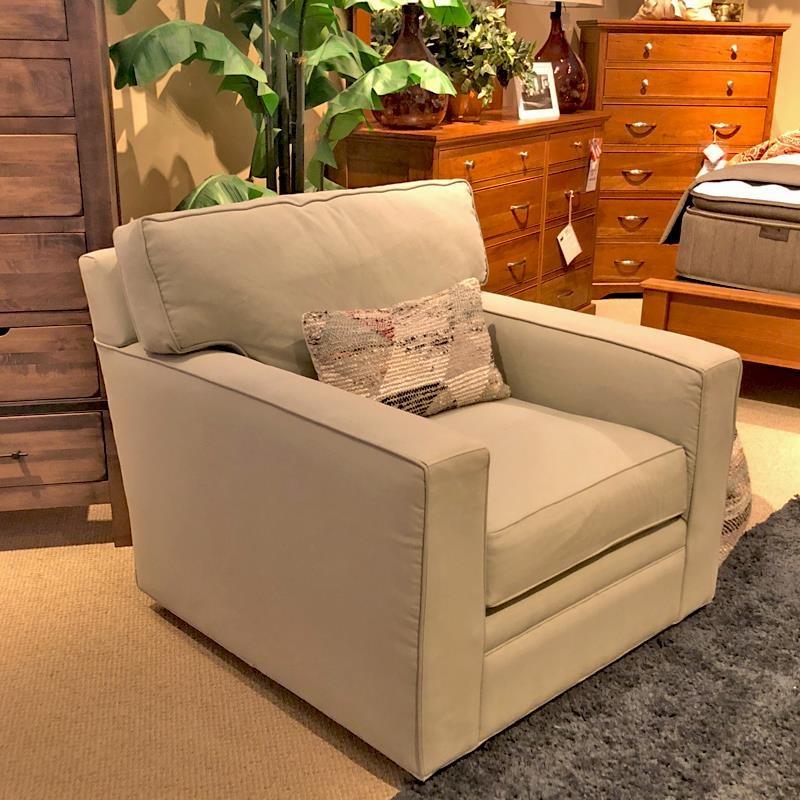 BeModern Porter Porter Swivel Chair - Item Number: 720325407