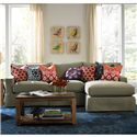 BeModern Porter Casual Sectional with Chaise