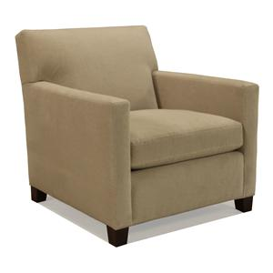 McCreary Modern 1050 Upholstered Chair with Track Arms