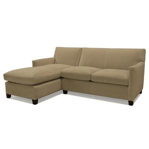 McCreary Modern 1050 Two Piece LAF Chaise Sectional Sofa