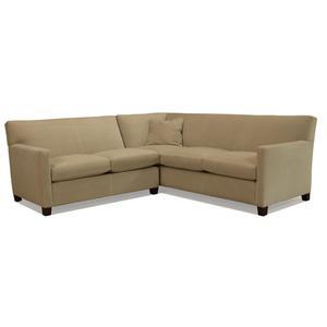 McCreary Modern 1050 2 Piece Sectional Sofa with RAF Corner Sofa