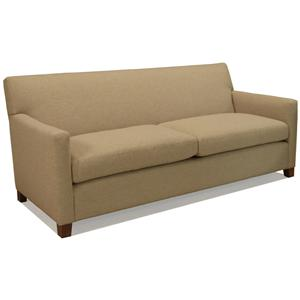 McCreary Modern 1050 Contemporary Two Seat Sofa with Track Arms