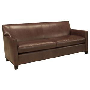 McCreary Modern 1050 M Contemporary Two Seat Sofa with Track Arms