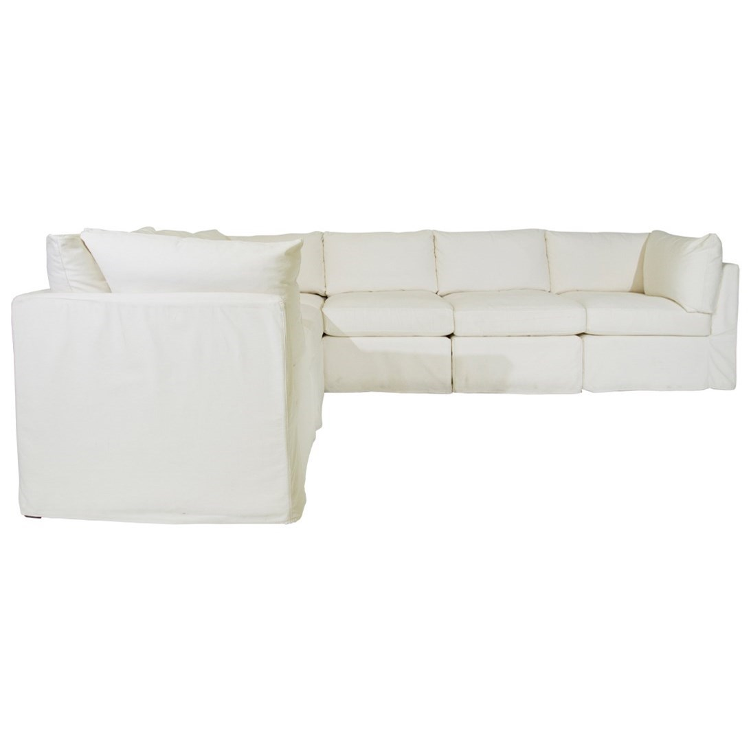 McCreary Modern 1058 Slipcover Sectional | C. S. Wo & Sons ...