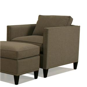 McCreary Modern 1059 Upholstered Chair with Track Arms
