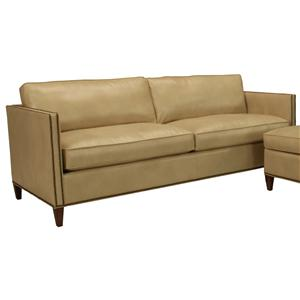 McCreary Modern 1059 Upholstered Stationary Sofa with Track Arms